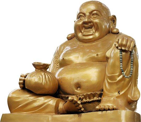 Très Représentations de Bouddha, le gros et le maigre | Vandjour YI34