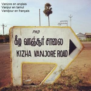 village origine nom vandjour