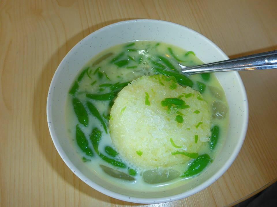 Dessert glacé coco + riz