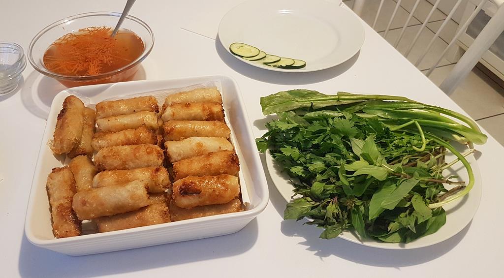 Nems nord Vietnam, cuisine asiatique
