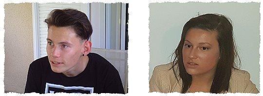 Vandjour Timothé 17 ans et Vandjour Julie 20 ans (2017)