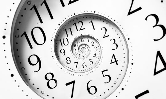 Le temps et l'espace 4D